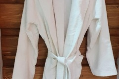White-Shawl-Collar-bathrobe-Terry
