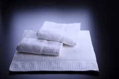 Hand-Towels-Zero-TWIST-White-Jacquard-Design-1