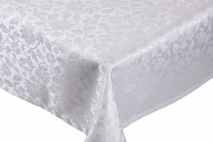 Table-cloth-Jacquard-Design-white